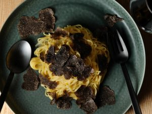 Truffle on pasta
